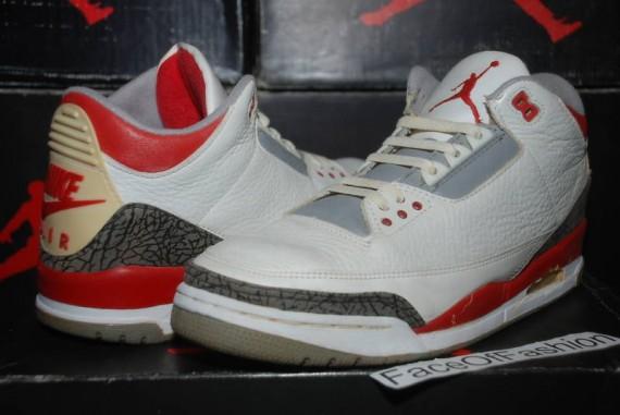 Air Jordan III: Fire Red 1988 Original