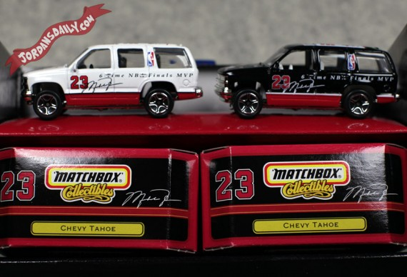 Michael Jordan x Matchbox Collectibles Chevy Tahoe - Circa 1999