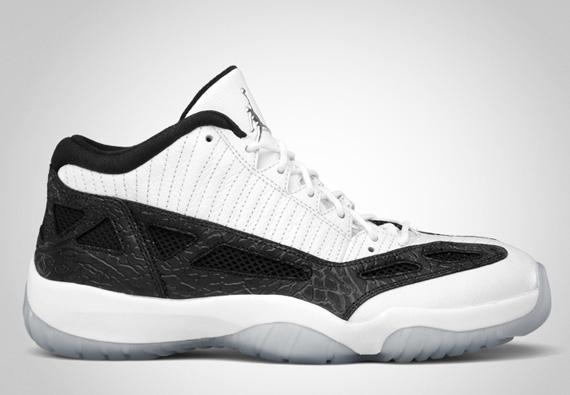 Air Jordan XI IE Low: White Black
