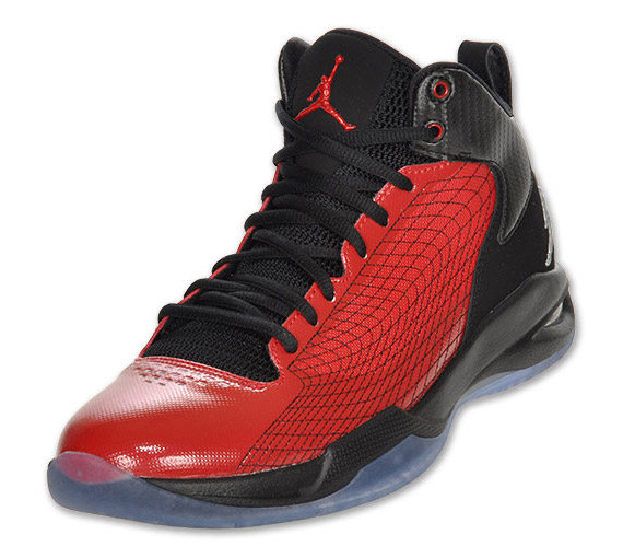 more photos 2816d f1261 The Jordan Fly 23  Flint  recently hit Jordan Brand retailers and the  Varsity Red Black colorway is next in line as it is now available for  purchase at ...