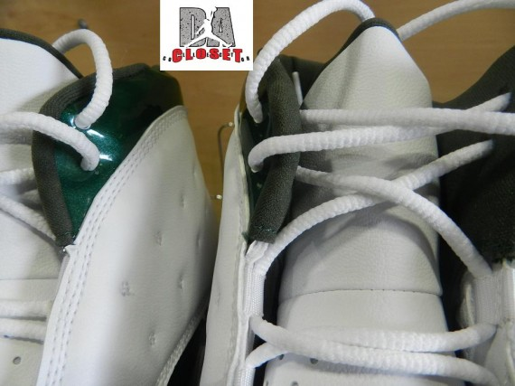 Air Jordan XIII Cleat: Ahman Green - Green Bay Packers PE