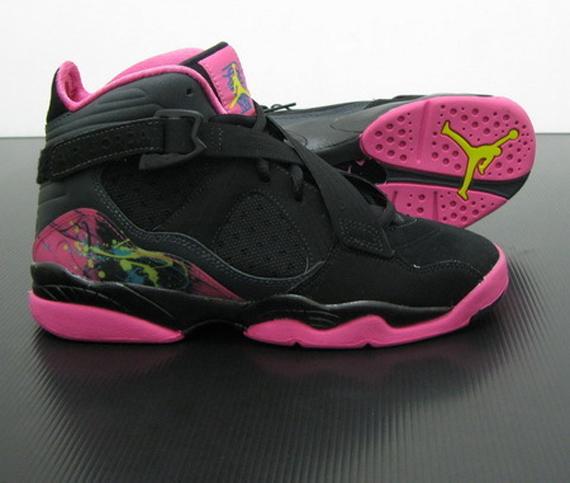 brand new 5a67e 6b77d Air Jordan 8.0 Girls: Black Pink - Air Jordans, Release ...