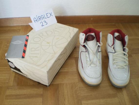best service 77899 37bca Air Jordan II: OG 1986 White Red - Air Jordans, Release ...