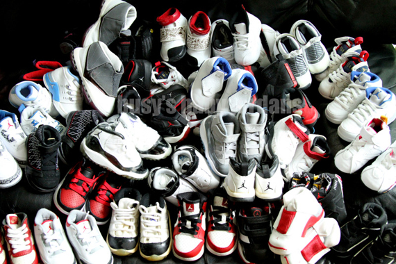 Baby Air Jordan Collection by Busy
