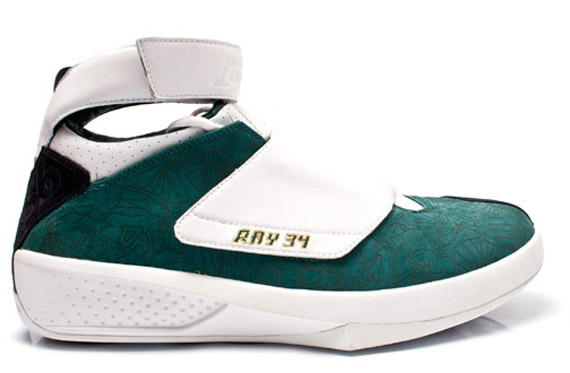 ray allen player exclusive shoes