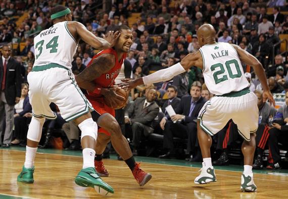 NBA Jordans On Court: Games of February