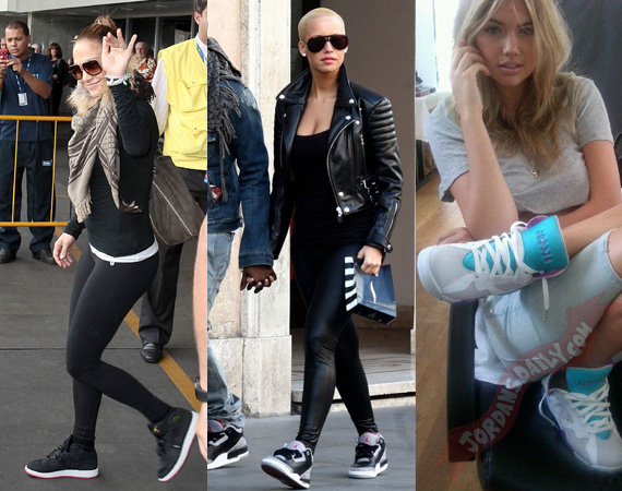 100 Girls In Air Jordans - Air Jordans