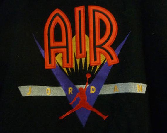 Vintage Gear: Air Jordan Varsity Jacket