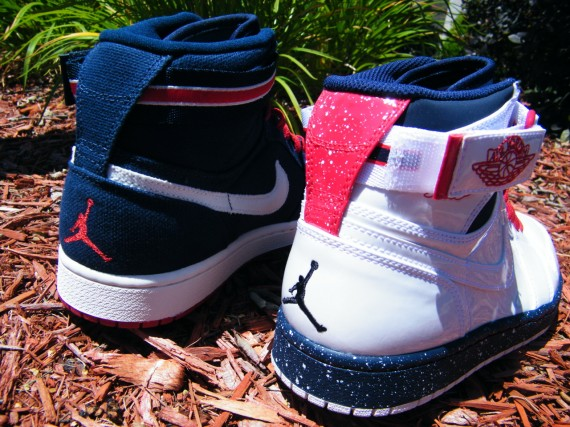 huge discount 00b7f cd373 Amidst the endless retro colorways lined up for the coming Olympic season  we get this duo of Air Jordan 1 Straps out of nowhere, two pairs from the  past ...