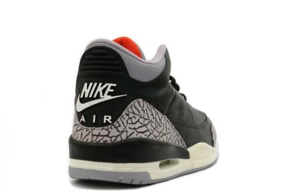 big sale 21e8e d13f3 Air Jordan III Black Cement Archives - Air Jordans, Release ...
