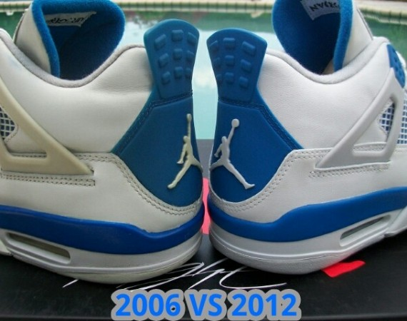 best authentic b9673 a3401 Air Jordan IV: Military - 2006 vs. 2012 - Air Jordans ...