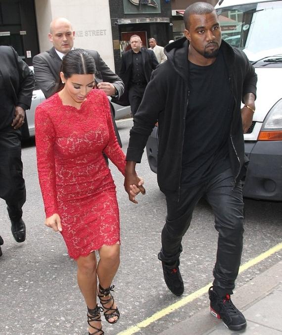 Kanye West Wears Air Jordan VI
