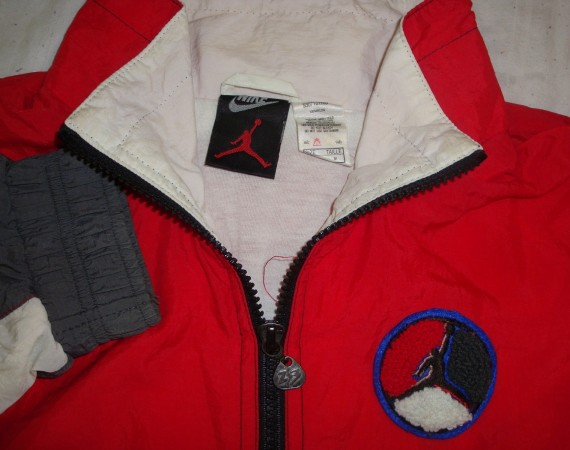 Vintage Gear: Air Jordan VIII Track Jacket