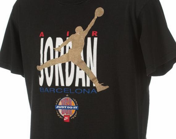 buy popular b4d15 48e94 Vintage Gear: Nike Air Jordan Barcelona 1992 T-Shirt - Air ...