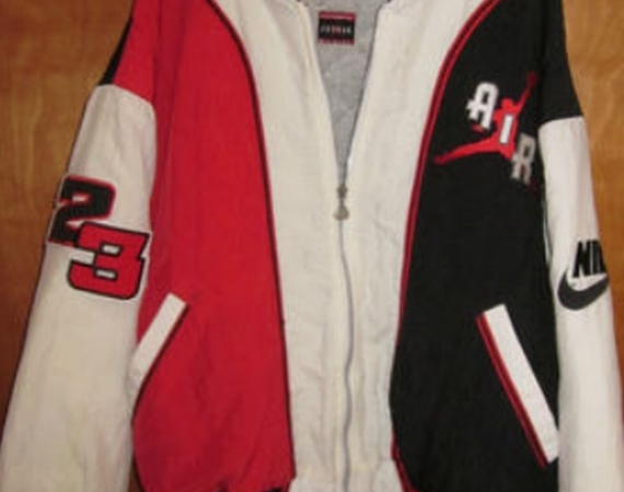 Vintage Gear: Nike Air Jordan Bomber Jacket