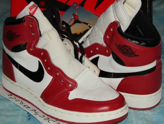 the best attitude 6ae27 89cd0 Sky Jordan 1: 1985 OG - Air Jordans, Release Dates & More ...