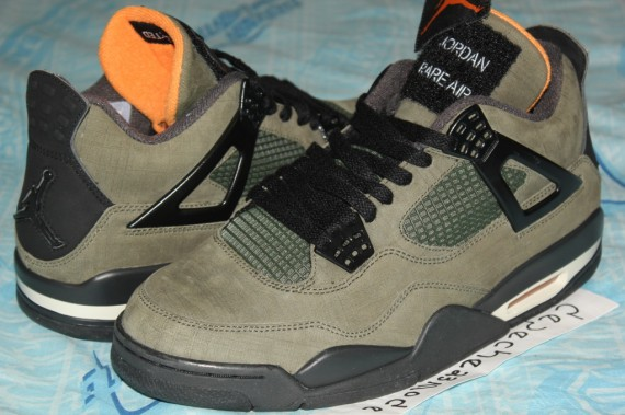 buy popular 0315c 84645 The UNDFTD x Air Jordan IV is to this day one of the most sought after Air  Jordan s to ever see a release, but did you know there are a few samples ...
