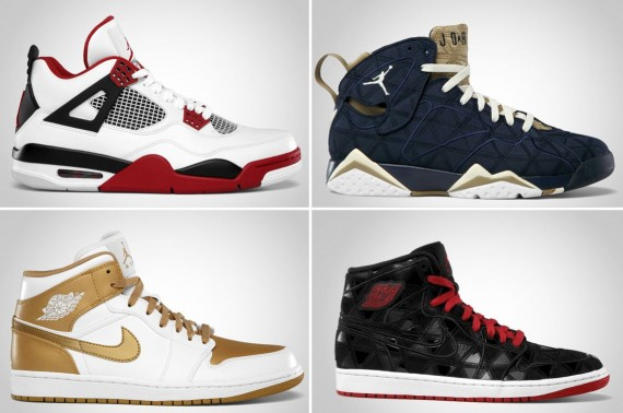 Air Jordan August 2012 Retro Releases