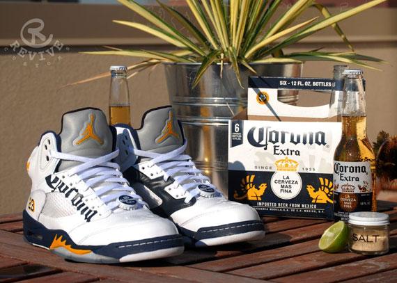 """Air Jordan V: """"Corona"""" Customs by Revive - Air Jordans, Release"""