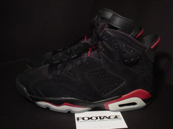 finest selection a03a8 5add8 The Daily Jordan: Air Jordan VI - Black - Varsity Red - 2010 ...