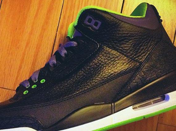 black green jordans