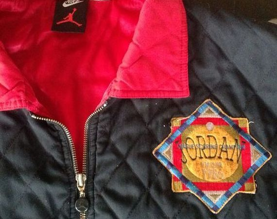 Vintage Gear: Quilted Air Jordan Patch Jacket