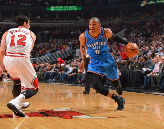 pretty nice 223c9 5e5a6 NBA Jordans on Court: Russell Westbrook in Air Jordan X ...