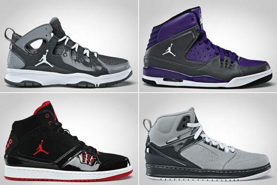 Jordan Brand December 2012 Footwear