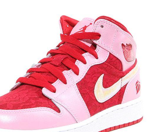 """Air Jordan 1 Mid Premium GS """"Valentine"""