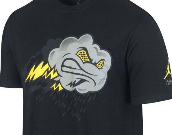 """Air Jordan IV: """"Thunder"""" Jordan Brand T-Shirts"""