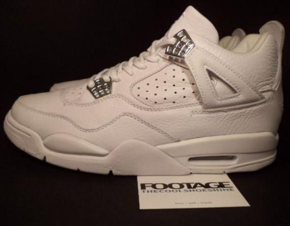 The Daily Jordan: Air Jordan IV - White