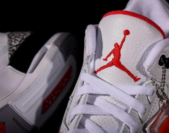 "the best attitude d7e08 da2bd Air Jordan III '88 ""White/Cement"" - Air Jordans, Release ..."