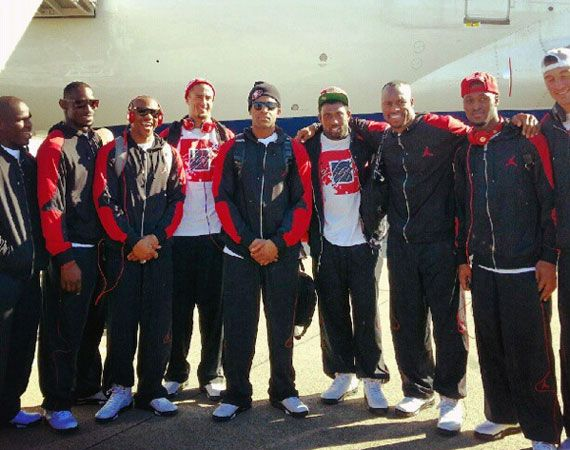San Francisco 49ers Wearing Air Jordan Vs