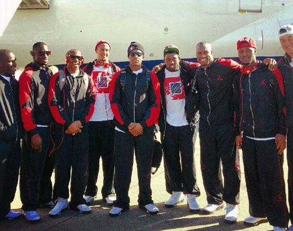 San Francisco 49ers Wearing Air Jordan Vs
