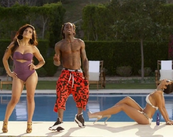 Lil Wayne Wearing Air Jordan XIII