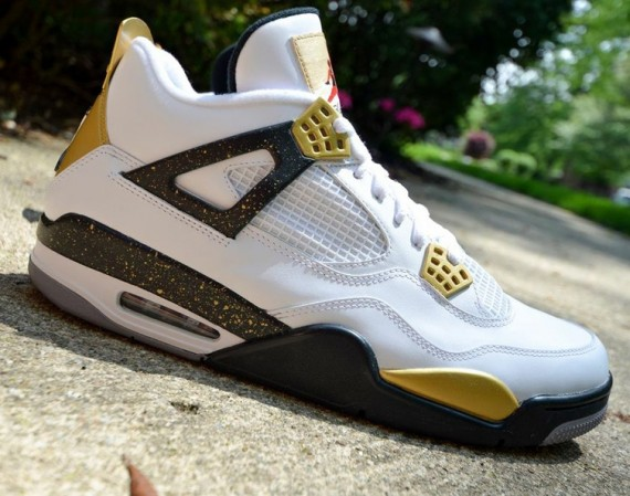 "Air Jordan IV: ""Gold Digger"" Customs by"