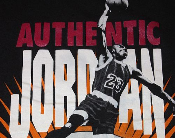 "Vintage Gear: Nike ""Authentic Jordan Worldwide"" T-Shirt"
