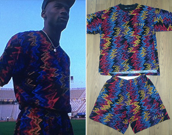 Vintage Gear: Air Jordan VII Shirt/Shorts Combo