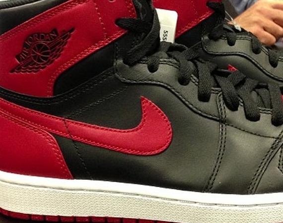 Air Jordan 1 Retro High OG – Black – Red Air Jordans