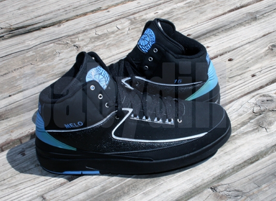 the best attitude 66cc7 f6252 Air Jordan II: Carmelo Anthony Nuggets Away PE - Air Jordans ...