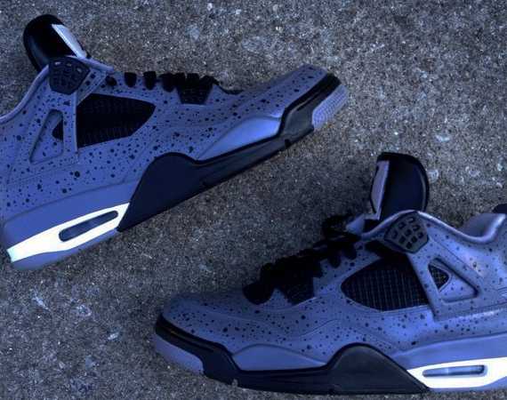 promo code 54339 ba00d The last time we saw DeJesus mess with the Air Jordan IV was for his Asics  inspired  Salmon Toe  customs. But with Jordan Brand taking one of their  patented ...