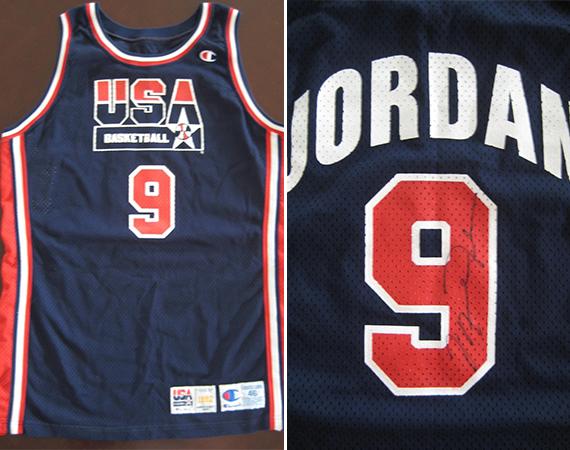size 40 749e5 25832 Vintage Gear: Michael Jordan Game-Worn Autographed Dream ...