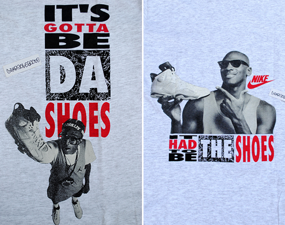 "Vintage Gear: Air Jordan VI ""It's Gotta Be Da Shoes"" T-Shirt"