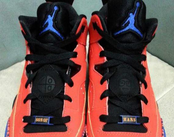 Jordan Son of Mars Low: Orange - Blue