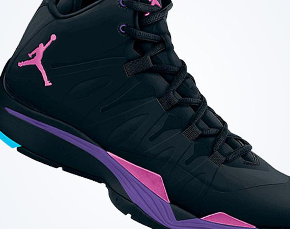 Jordan Super.Fly 2: Black – Club Pink