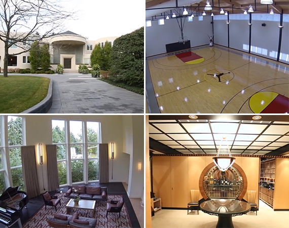 Tour Michael Jordan's Highland Park Mansion