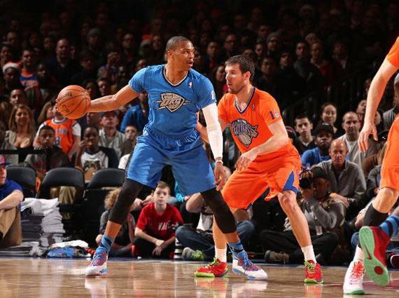 timeless design c3737 a400c NBA Jordans on Court: Russell Westbrook - Air Jordan 10 ...