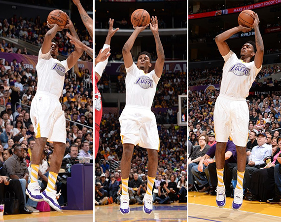 NBA Jordans on Court: Nick Young - Air