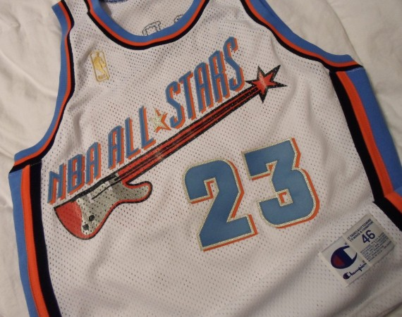 Vintage Gear: Michael Jordan 1997 All-Star Game Jersey Prototype