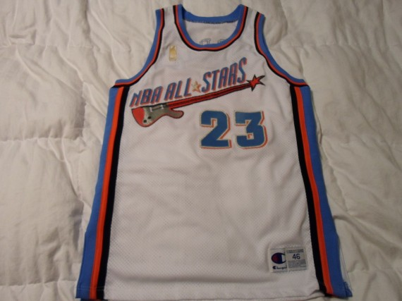 the latest 0d8a7 11627 Vintage Gear: Michael Jordan 1997 All-Star Game Jersey ...